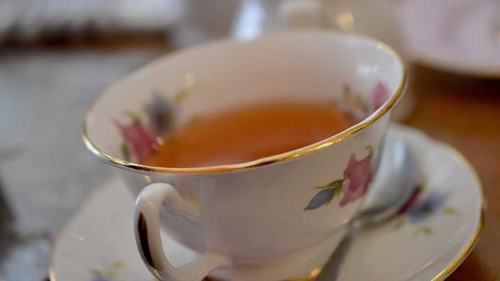 Drinking Loose Leaf Tea
