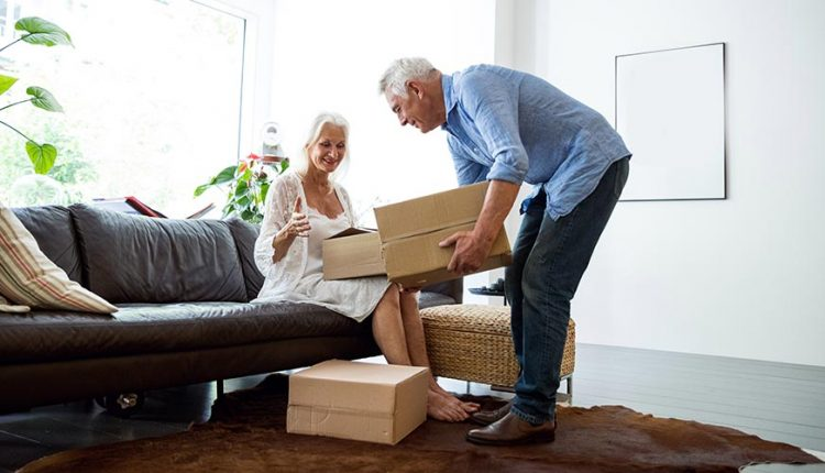 Elderly Loved One With Downsizing